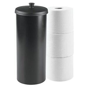 Mdesign portarotolo carta igienica da terra porta carta - Porta carta igienica da terra ...