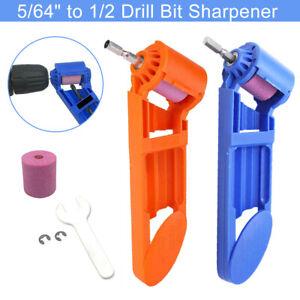 Portable Corundum Grinding Wheel Drill Bit Polisher Sharpener DIY Powered Tool