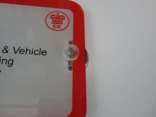 MAGNETIC TRADE PLATE HOLDERS EXTRA STRONG FOR VANS,CARS ANTI SCRATCH