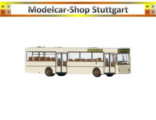 Minitrix 65404 autobús urbano o405 Berlin BVG con posibles curvas posición Front eje
