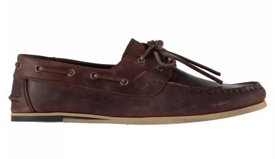 b9f832b54a Firetrap Avisos Boat Mens Size shoes Brown nudrho1176-Casual Shoes ...