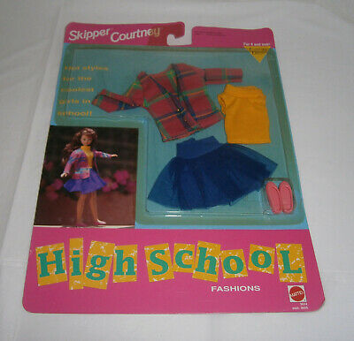 NIP Vintage Mattel Skipper /& Courtney High School Fashion Outfit 1992 #3654