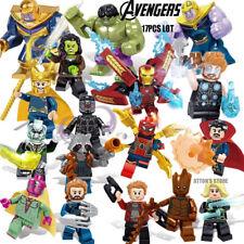 X654 Mini Figur Superhero Hulk in verschiedenen Farben Modell Spielzeug 6PCS