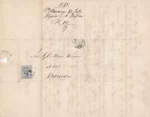 Spain 19th centuary stamps cover Ref 8338