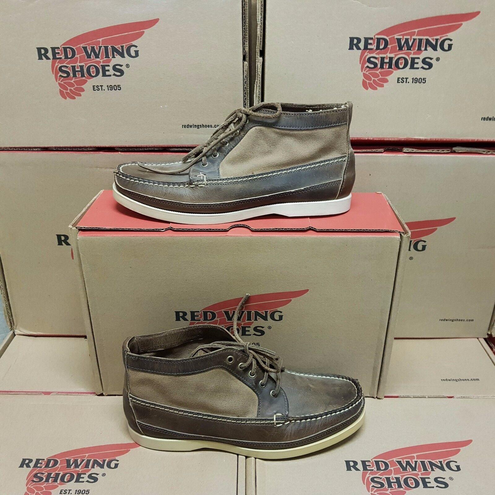 nuovo sadico RED RED RED WING scarpe 9191 Chukka Concrete uomo stivali US 8,5 EUR 41,5 (pv 319 )  negozio outlet