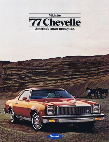 1977 Chevy Chevelle Dealer Sales Brochure