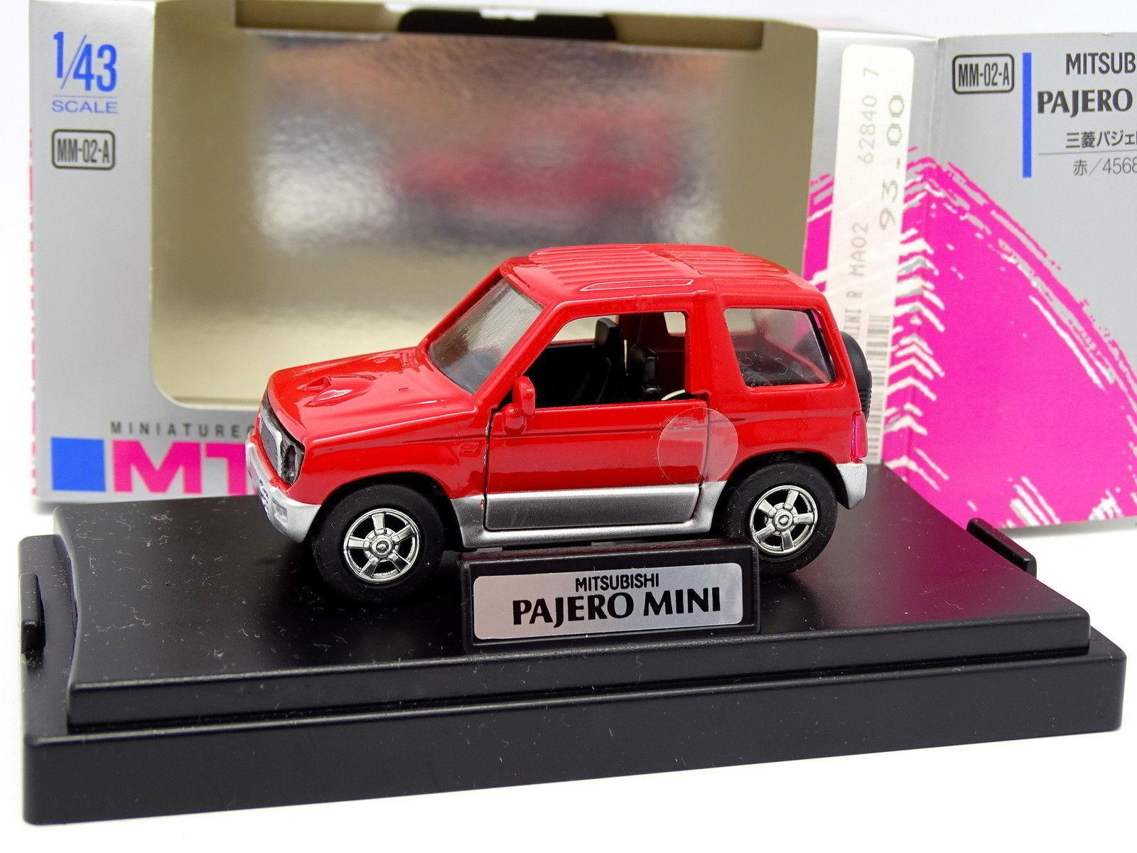 Epoch M Tech 1 43 - Mitsubishi Pajero Mini Red
