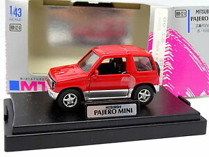 Epoch-M-Tech-1-43-Mitsubishi-Pajero-Mini-Rouge
