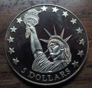 Republic Of Liberia 5 Coin