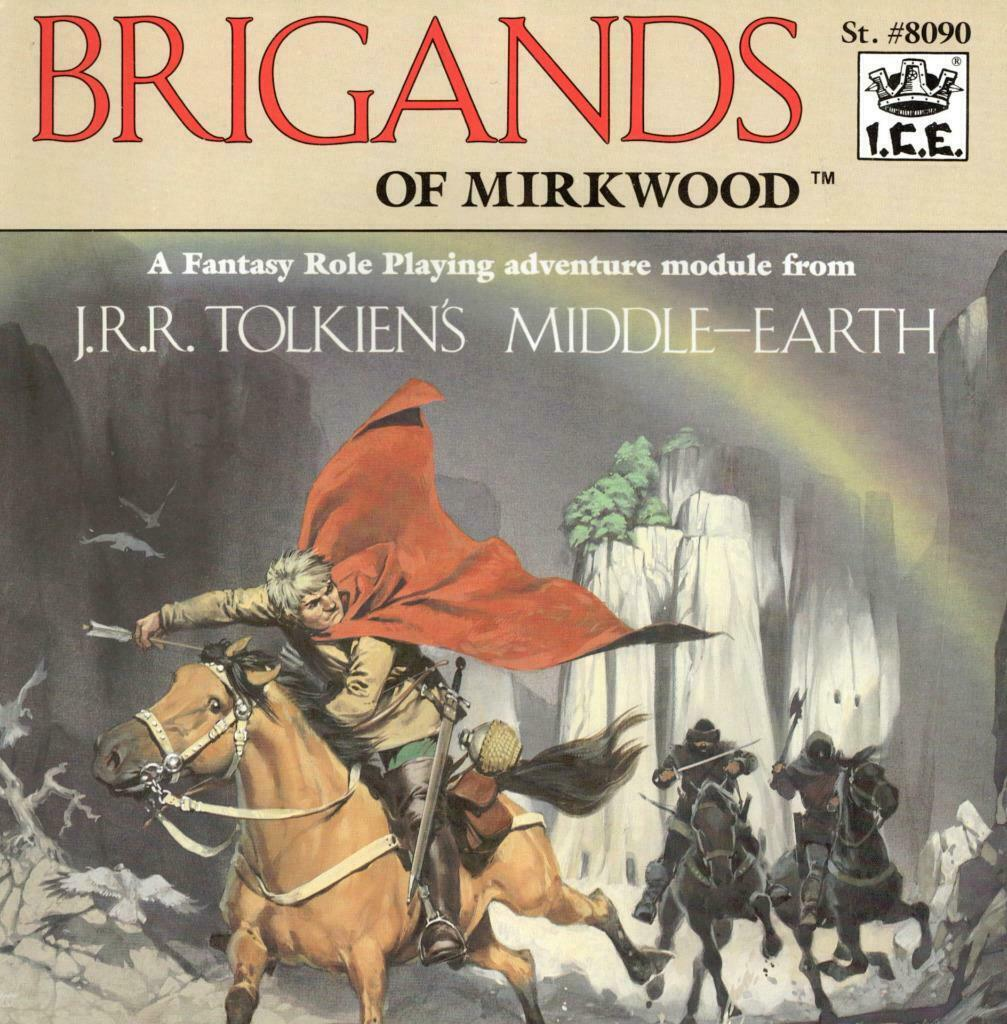 Brigands of Mirkwood w\Maps, Middle Earth MERP Great MegaExtras
