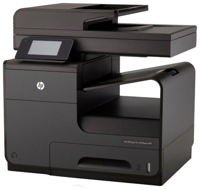 Hp Officejet Pro X576dw All In One Inkjet Printer For Sale Online