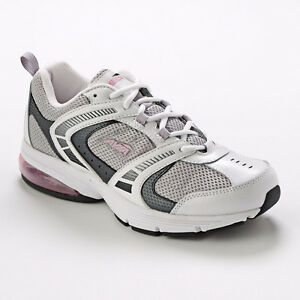 Avia-Womens-A6555WWSQ-Athletic-Walking-Training-Shoes-White-Grey-Pink