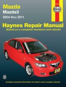 Haynes-Workshop-Manual-Mazda-3-Mazda3-2004-2011-Service-Repair