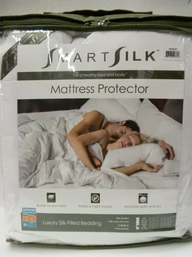 King New Smart Silk Luxury Hypoallergenic Mattress Pad Protector All Size Twin