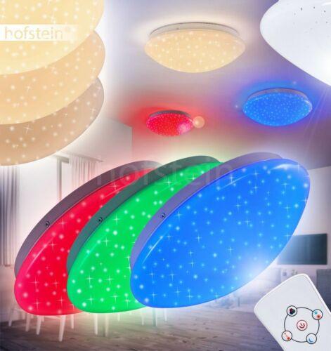 LED Farbwechsler Decken Leuchten Flur Wohn Schlaf Zimmer Lampen Fernbedienung