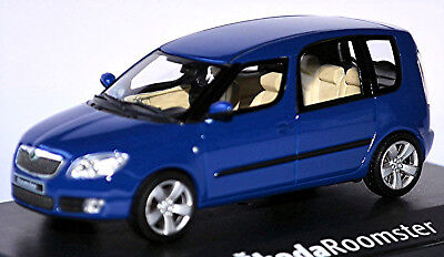 Skillful Knitting And Elegant Design Intellective Skoda Roomster Type 5j 2006-10 Blue Dynamic Blue 1:43 Abrex To Be Renowned Both At Home And Abroad For Exquisite Workmanship Automotive