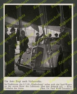 Dr-Wolff-Weltflughafen-Frankfurt-Zeppelin-LZ-129-Auto-Fracht-Opel-Olympia-1936