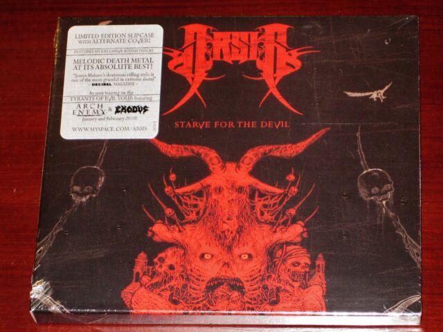 Arsis: Starve For The Devil - Limited Edition CD 2010 Bonus Track Slipcase NEW