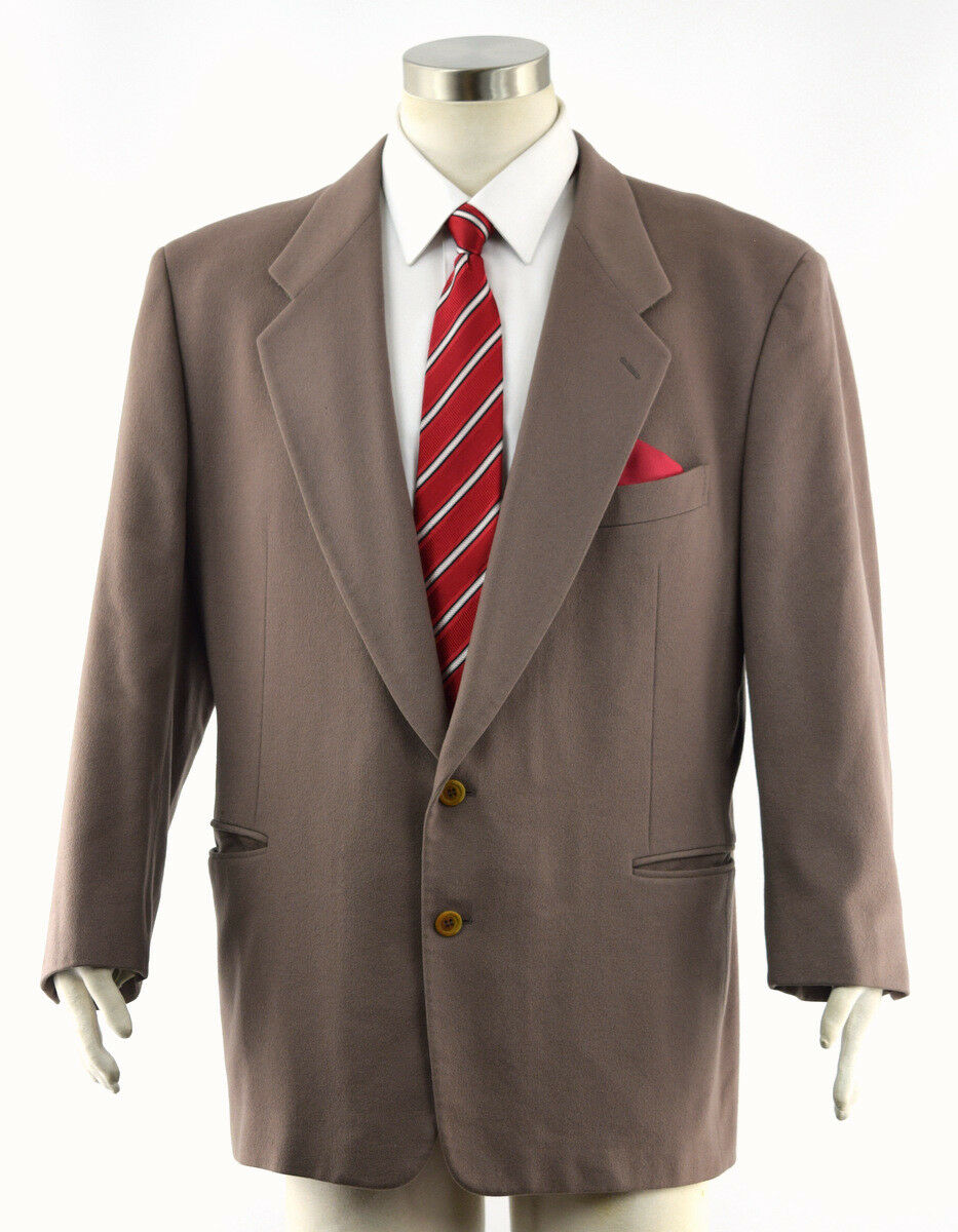 16837ea44d1b9 PAL ZILERI Men s COLOMBO Cashmere Gruppo Forall Sport Coat Blazer 46R PULL  Brown nfvvko4843-Suits   Tailoring
