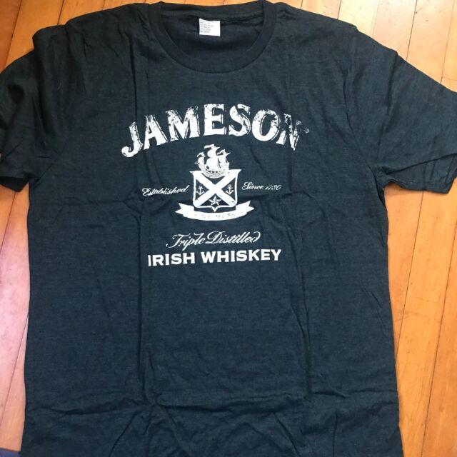 567296306d9 Jameson Irish Whiskey T-shirt Green Logo-s for sale online