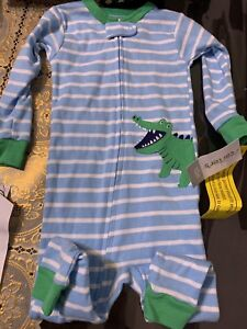 ac319b0b5d34 Baby Boy Sleeper Size 12 Months By Carters NWT