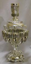 "New Shabbat Kiddush Wine Fountain 12 Cups, Size 20.5"", Big Cup 4"" Small Cup 2"""