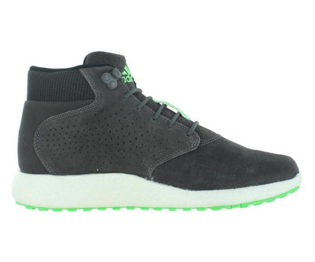 679105705531 Mens adidas D Rose Lakeshore Boost Hi Grey Green Trainers Shoes ...