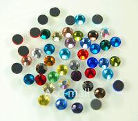 2880/7220PCS Randomly Mixed DMC Iron Hot fix Crystal Rhinestones SS10 SS16 SS20