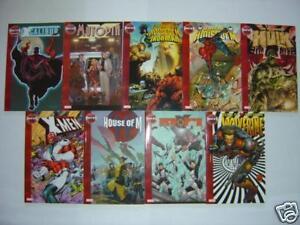 Marvel-Comics-House-of-M-X-Men-Avengers-TPB-Decimation-Magneto-Wolverine-Bendis