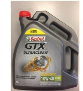 Aceite coche castrol 10w40 5 litros gtx ultraclean vw seat skoda mercedes fiat