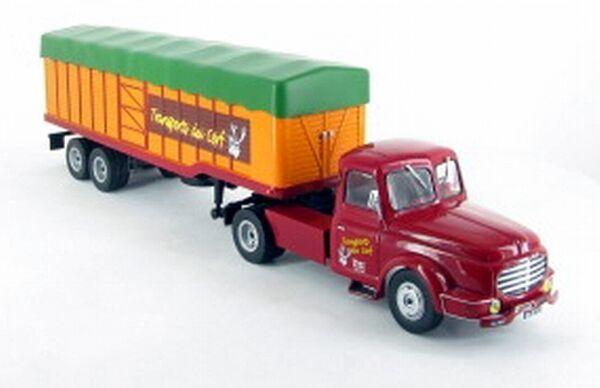 # 1/43 Ixo Tir Willeme Lc610t 1952 Trasporto Cervi Diecast Camion Truck Lorry # Pour Revigorer Efficacement La Santé