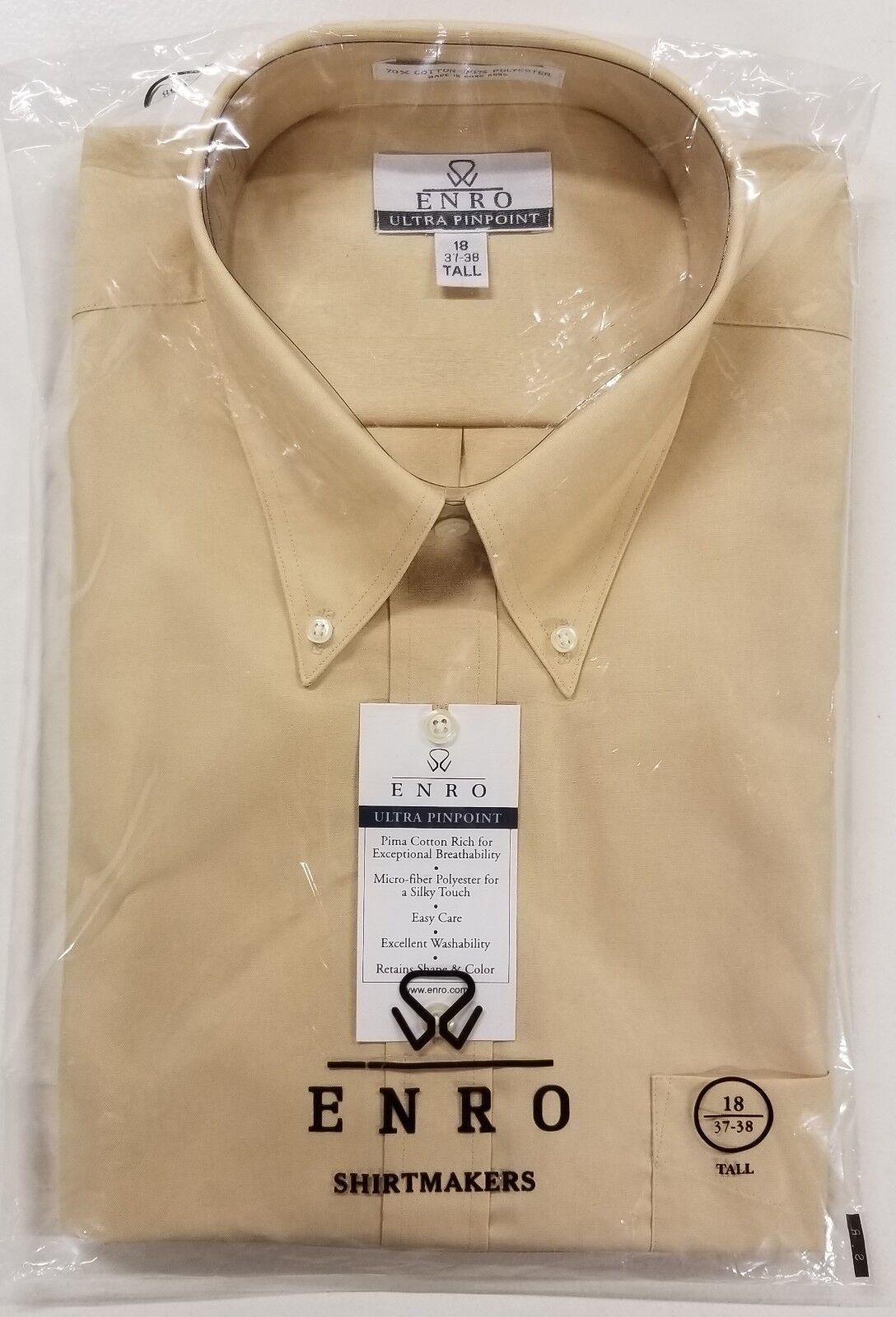 ENRO Long Sleeve Dress hemds BRAND NEW CLEARANCE BUNDLE(3)-Größe 17.5 37-38 Tall
