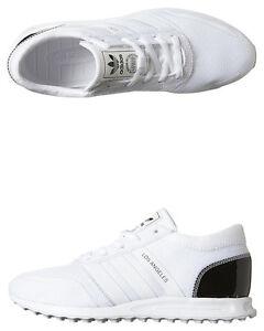 New-Adidas-Originals-Women-039-s-Los-Angeles-Womens-Shoe-Mesh-White