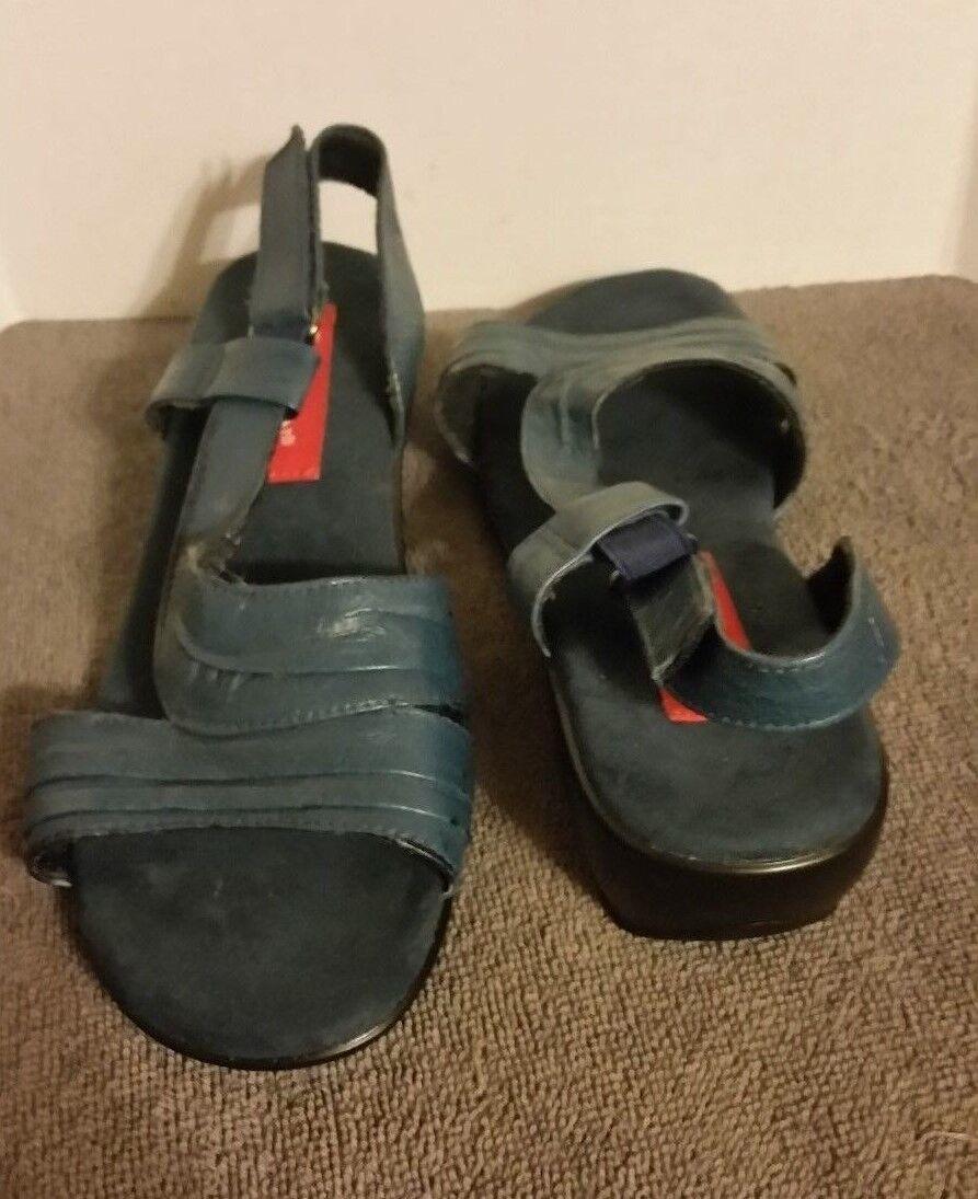 Men/Women Women's Sandals Hsalon 5.5m blue design FS6 New product New design blue have fun 4e46b2