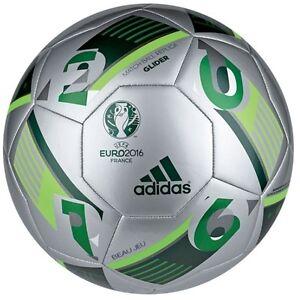 EM 2016 Frankreich Deutschland Größe 5 Fußball Adidas Beau Jeu Glider Grün