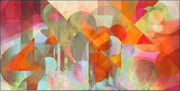 Rama Kaji  Alternate Movements Keilrahmen-Bild Leinwand abstrakt modern Kreise