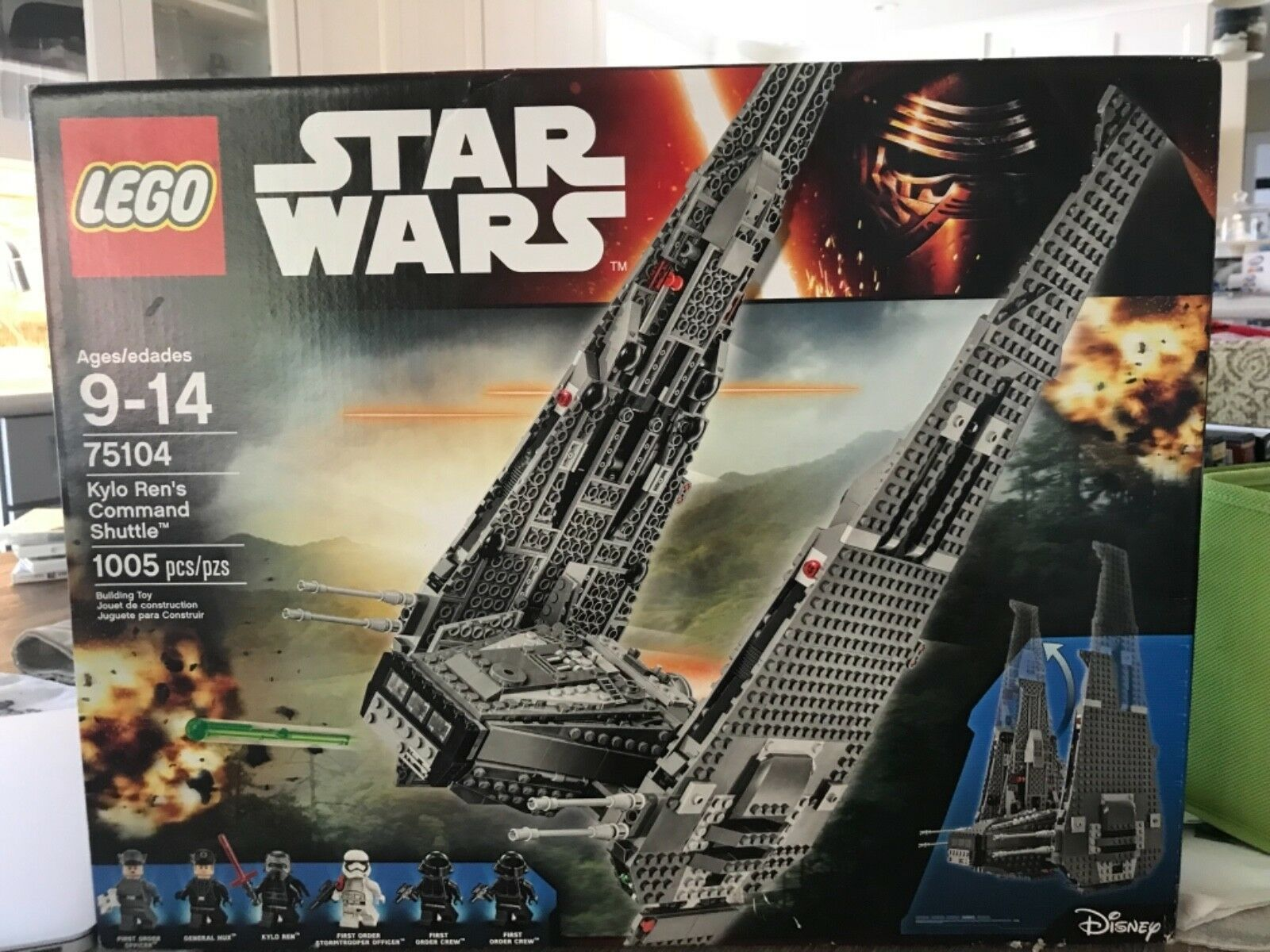 Lego - star - wars - kylo ren das shuttle (75104)