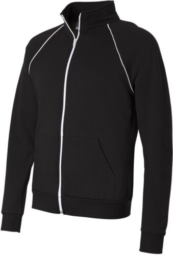 Canvas Full-Zip Track Jacket with Cadet Collar 3710