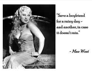 Image Is Loading MAE WEST QUOTE 5 8X10 Or 11X14 PHOTO