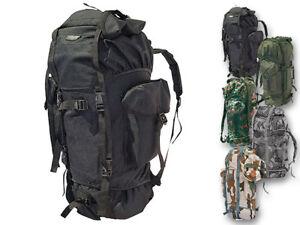 Nuevo BW MOCHILA m soporte de Transporte Ejército Verde oliva bolso camping exterior migración