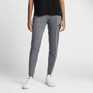 Nike Sportswear Tech Fleece Women's Pants Carbon Heather/Black