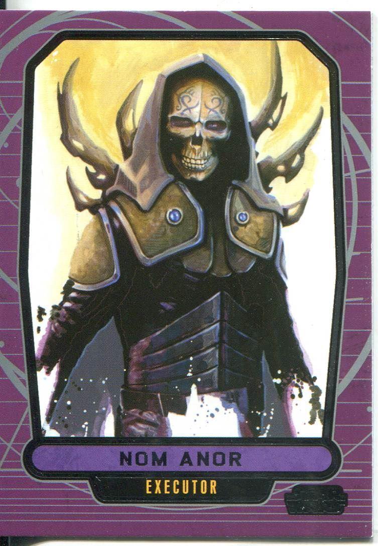 Star Wars Galactic Files Series 1 Base Card #199 Darth Traya