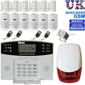 LCD Sans Fil GSM Autodial Home House Office Sécurité Cambrioleur Intrus Alarme vente
