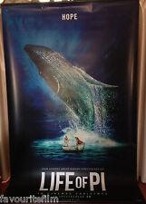 Cinema Banner: LIFE OF PI 2012 (Hope) Suraj Sharma Adil Hussain Ang Lee