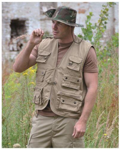 Nouveau Gilet US Ranger Chasse et pêche Gilet Coton Doublé Armée gilet xs-4xl
