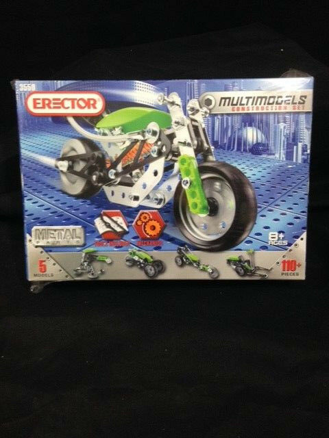 Erector Set Multimodel Construction Set 3550