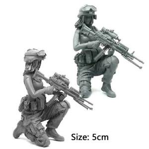 1-35-Modern-Army-Female-Soldier-Series-Individual-Soldier-Model-Kit-Resin-F-H1V6