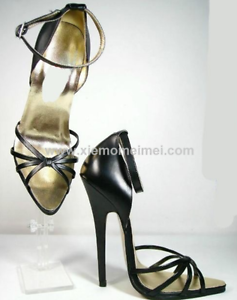 Womens Peep Toe Clear Nightclub Sandals High Heels Stretch Ankle Boots Stilettos