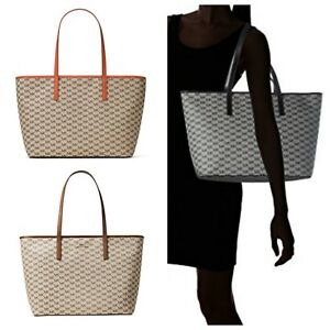 Michael Kors Studio Signature Emry Large Top Zip Tote Shoulder Bag ... e4e9584d2e2c4
