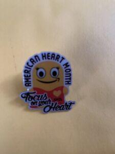 American Heart Monat peccy Pin